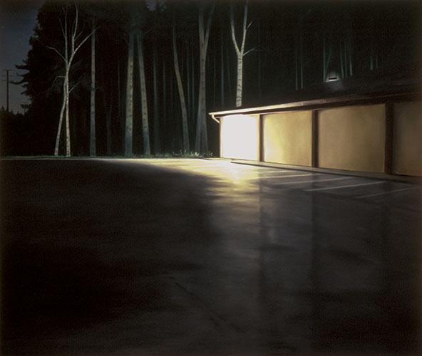 2001  Endstation Aldi93,5 x 110,5 cmÖl auf Holz