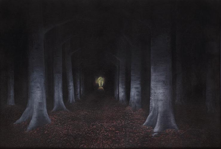2012  Der Buchenwald110 x 160 cmÖl auf Holz