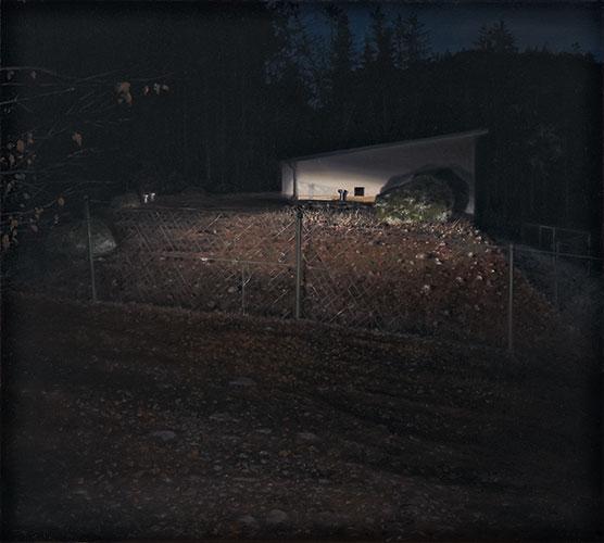 2011  Vorra/Wasserspeicher40 x 40 cmÖl auf Holz