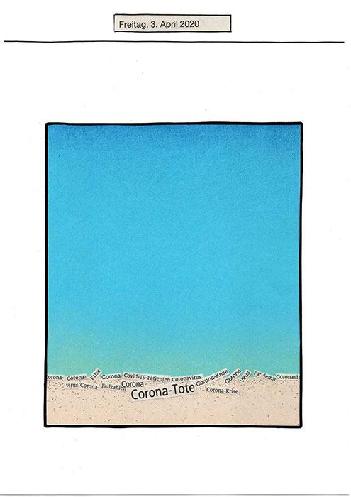 Der Himmel über Corona